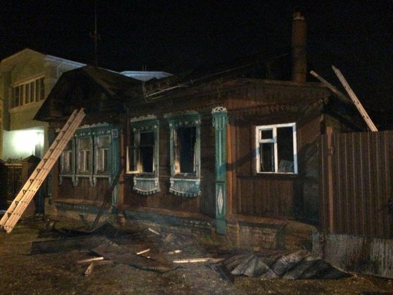 ВИвановской области напожаре умер человек