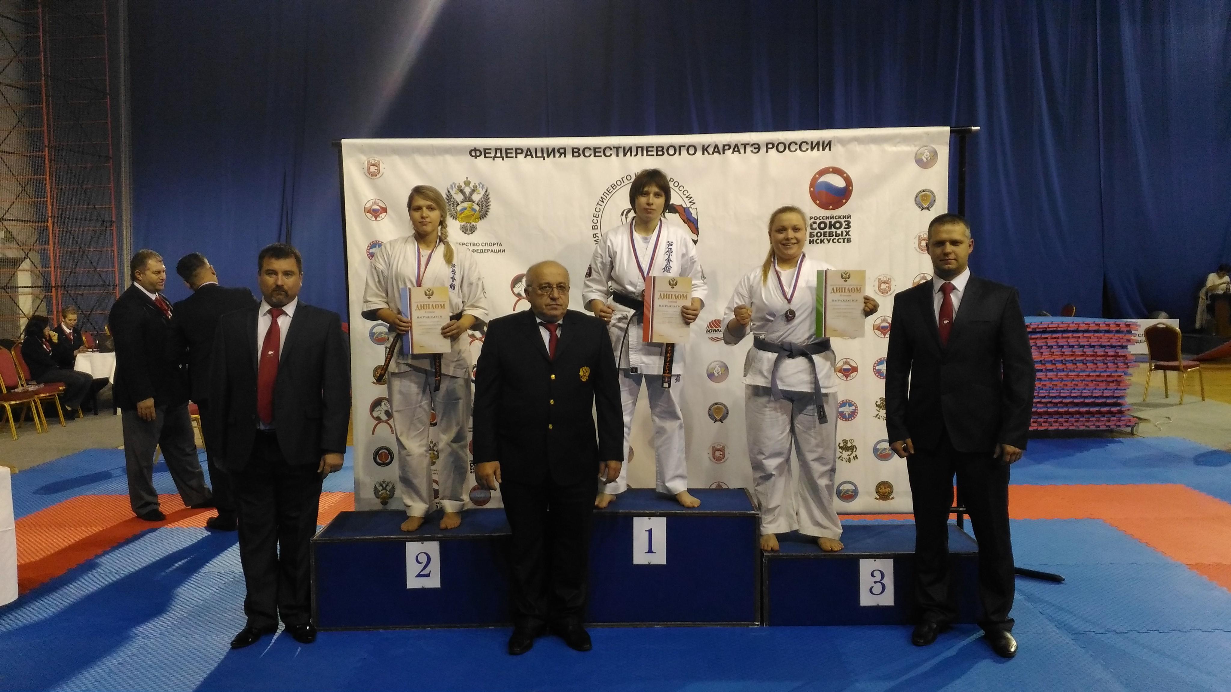 Курская сборная покаратэ вернулась сКубка РФ с наградами