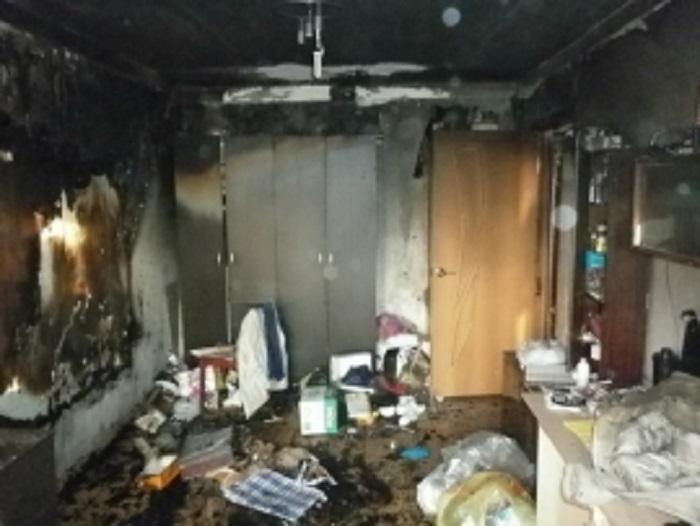 ВИвановской области впроцессе пожара вдвухэтажном доме погибла женщина