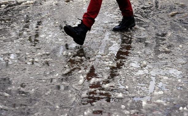 Вначале рабочей недели рязанцев ждет снег игололедица