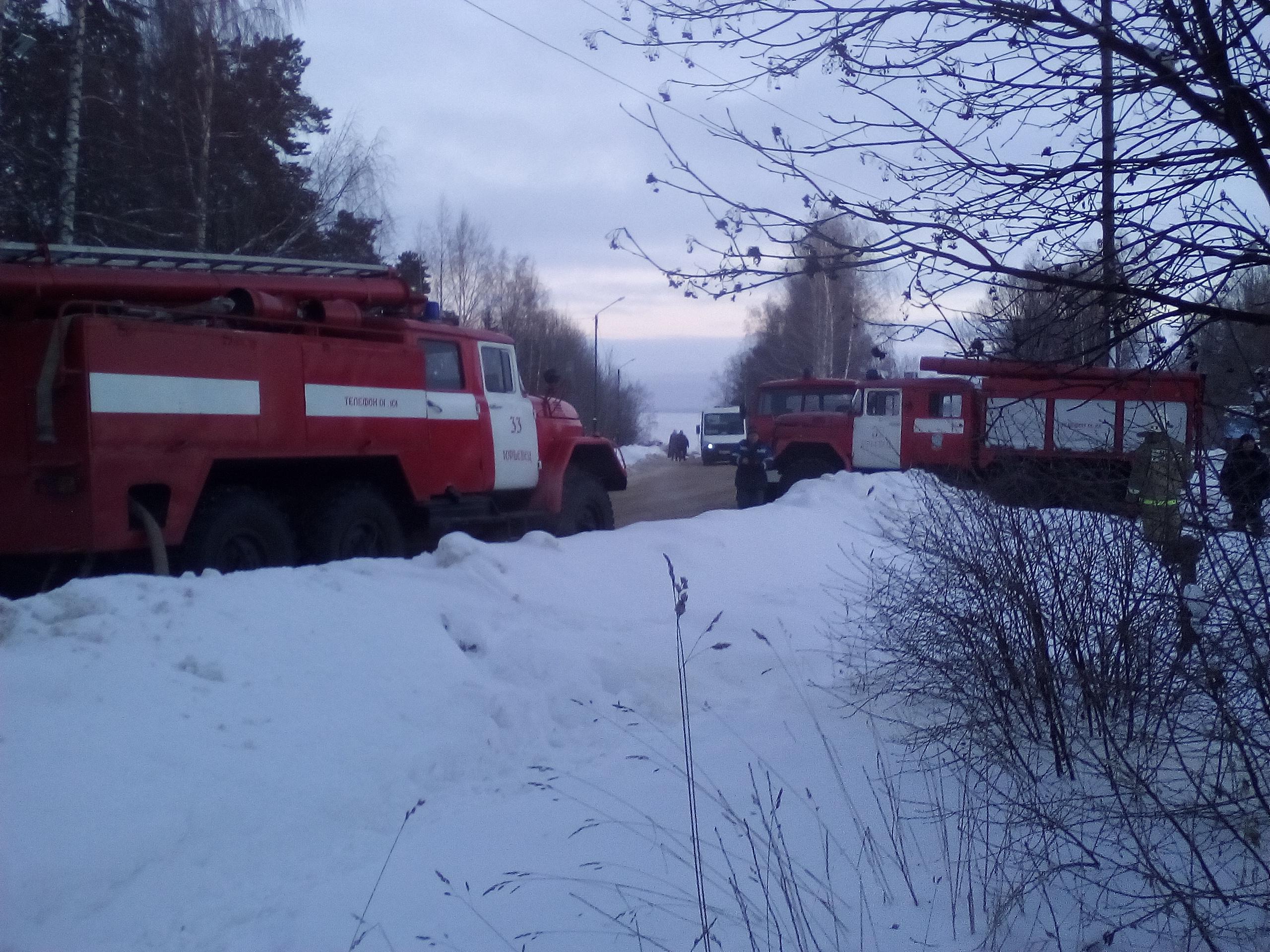 Двое мужчин погибли впожаре вЮрьевце Ивановской области