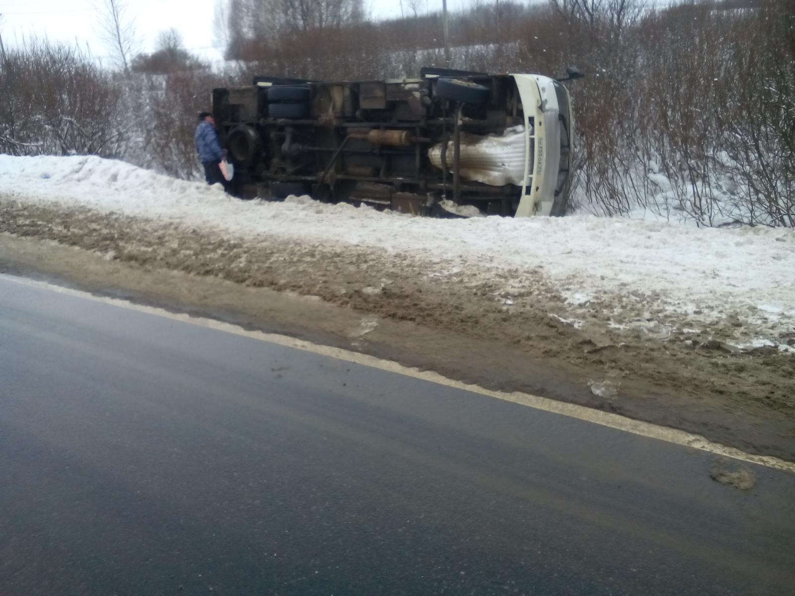 5 человек пострадали вДТП савтобусом под Иваново