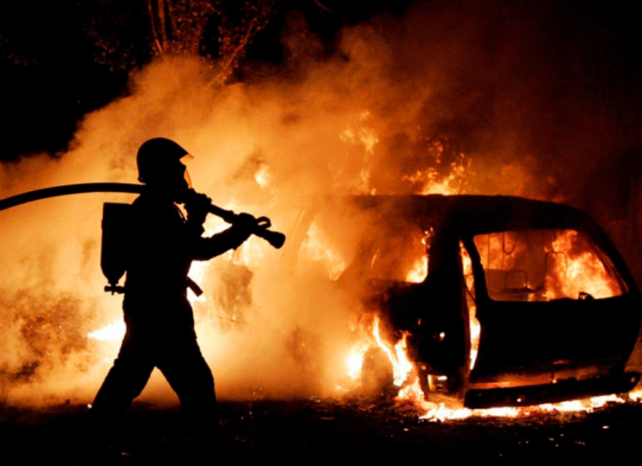 Завчерашний день вИвановской области сгорело 4 автомобиля