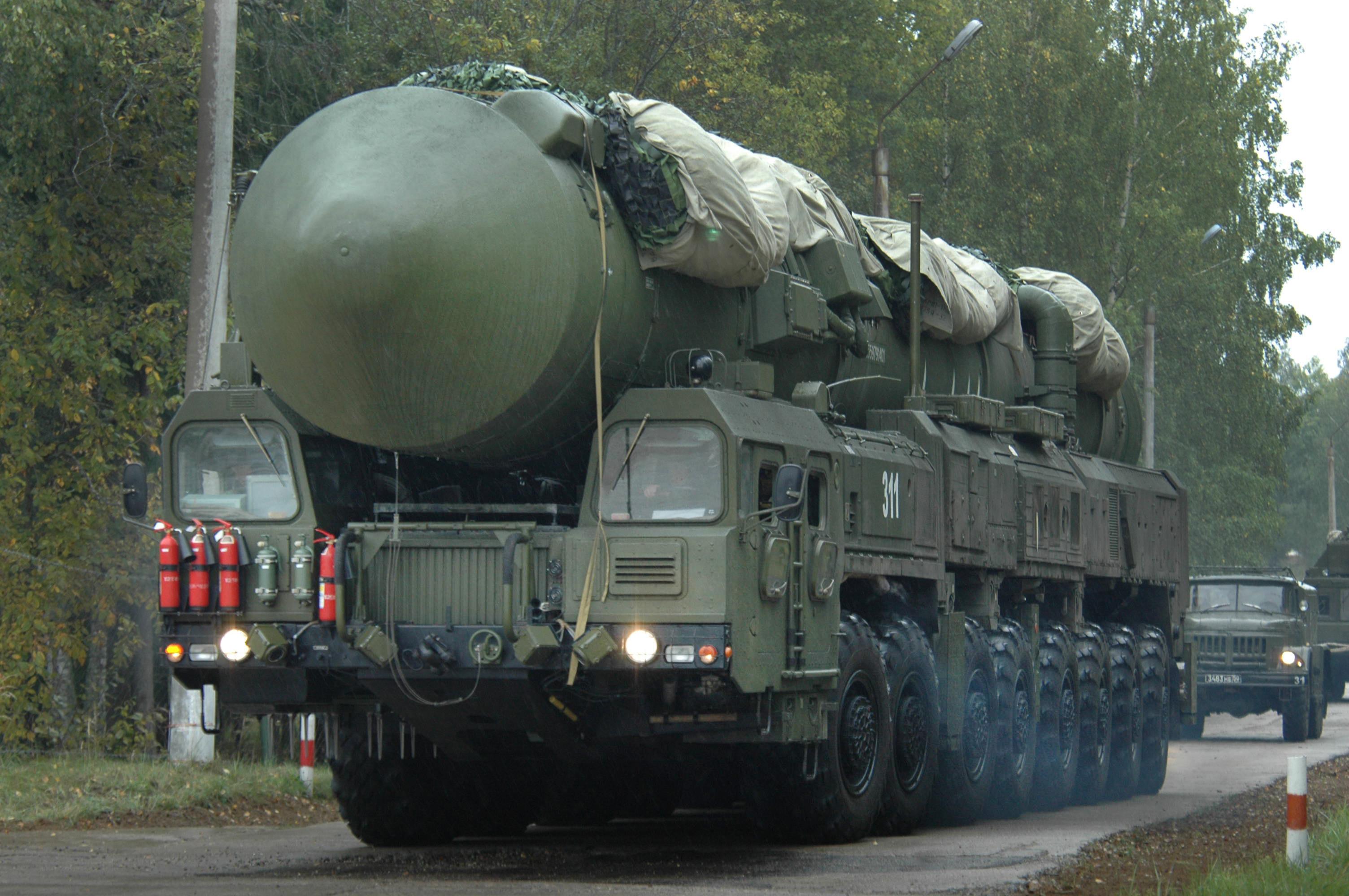 Научения вИвановской области выведут установки «Тополь-М» и«Ярс»
