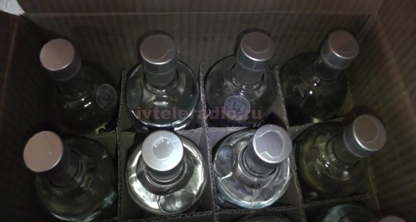ВИванове изъяли свыше 1,5 тысячи литров контрафактного алкоголя