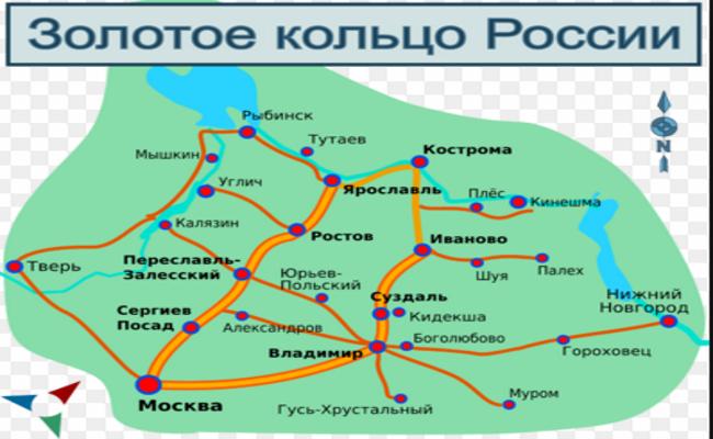 Касимов входит втоп-10 городов «Золотого кольца России»