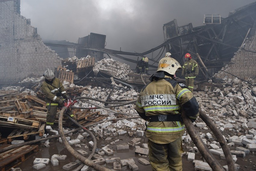 Пофакту смерти 2-х пожарных вИванове возбуждено уголовное дело