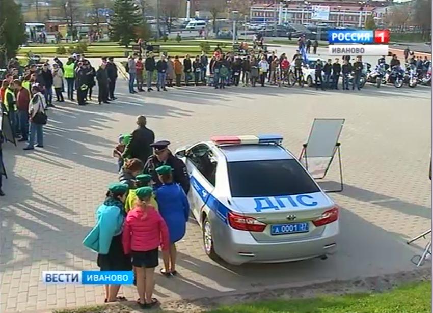 Чувашская Республика— ВЧебоксарах работники государственной автоинспекции поддержали акцию «Сохрани жизнь!#Сбавь скорость»