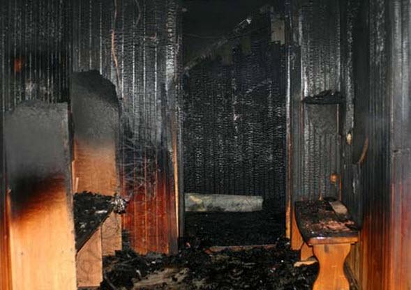 ВИванове из-за пожара всауне эвакуировали постояльцев гостиницы