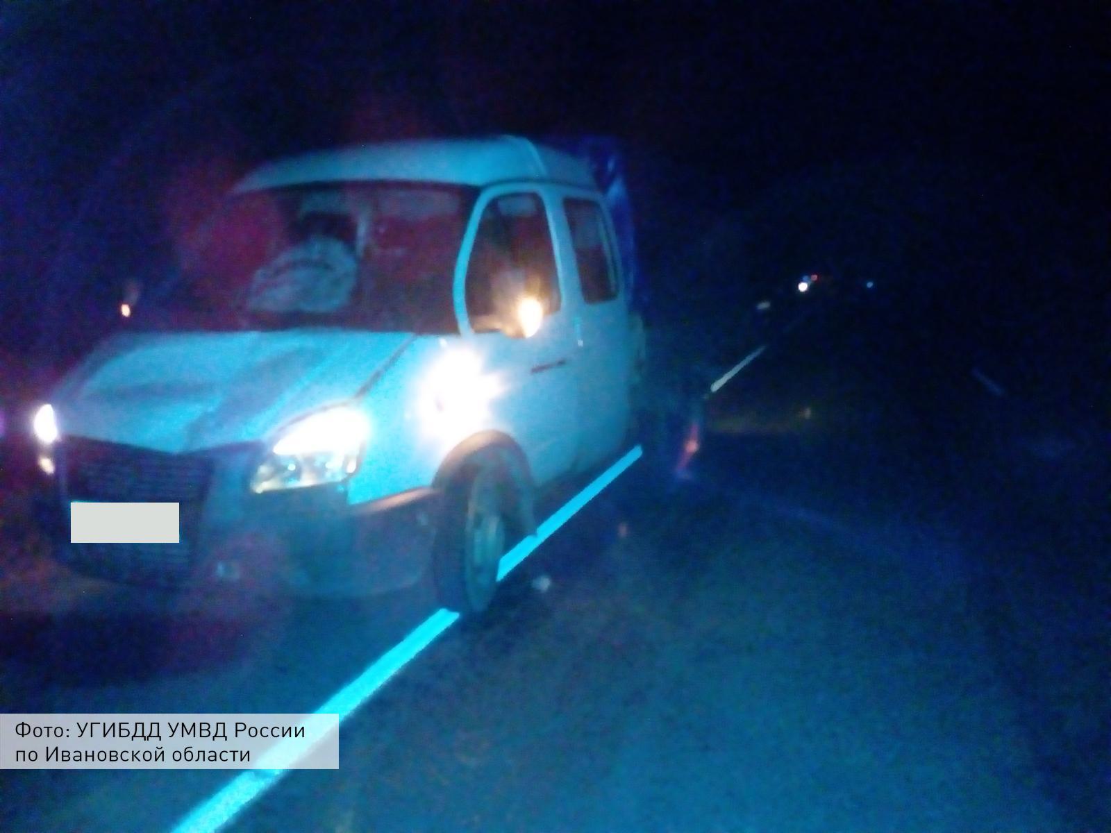 На трассах вИвановской области за15 мин. погибли два пешехода