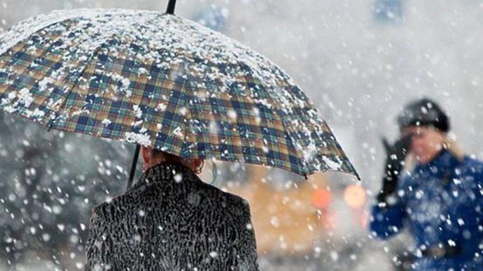 Мокрый снег исильный ветер ожидаются вовсех Центральных областях — МЧС